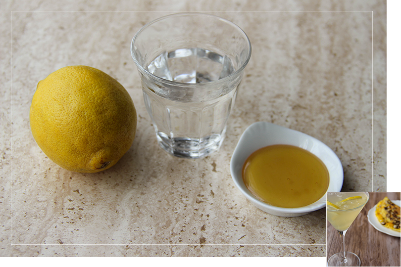 Honey bee cocktail ingredients