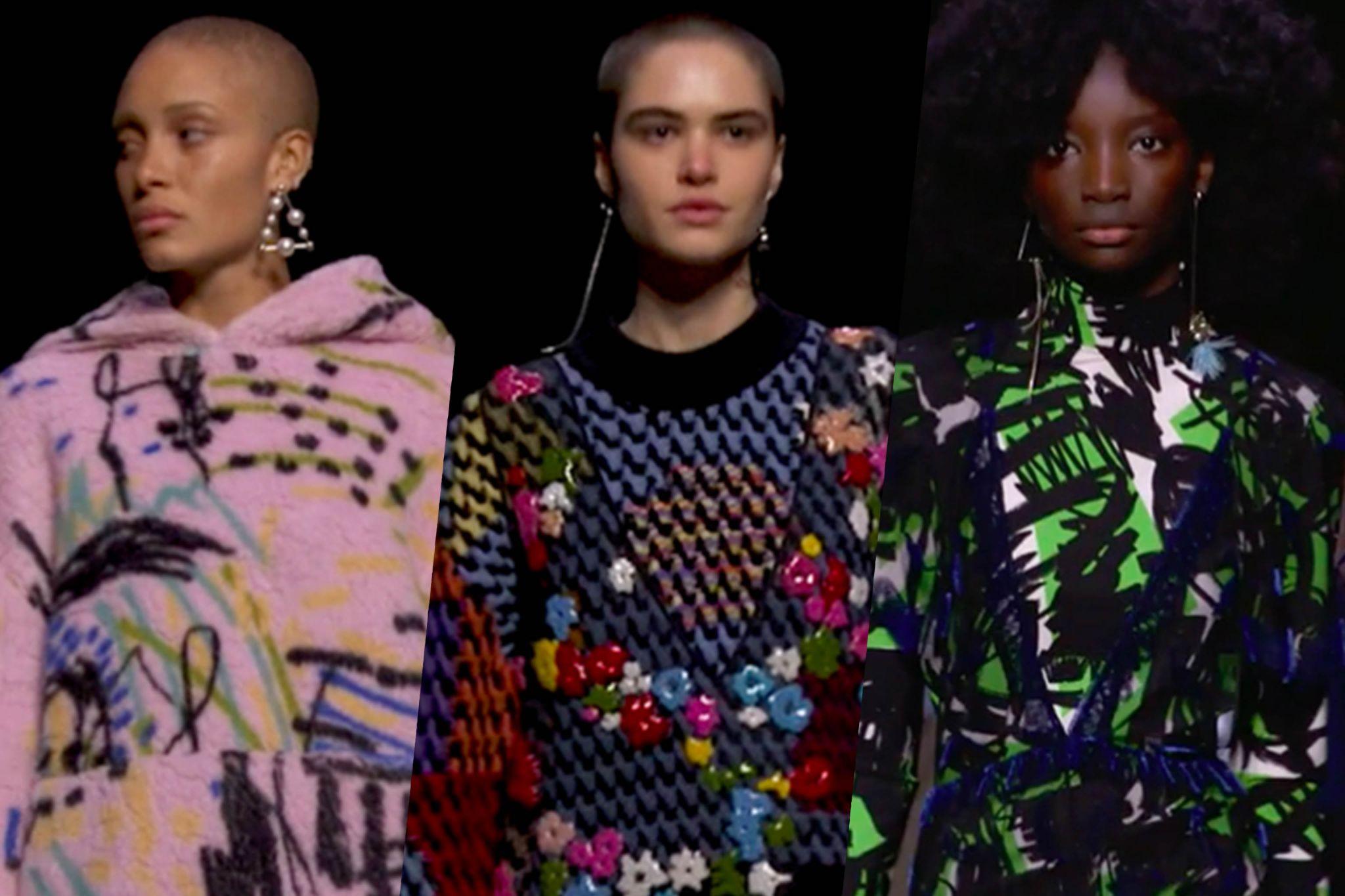 As seen on London Fashion week march 2018