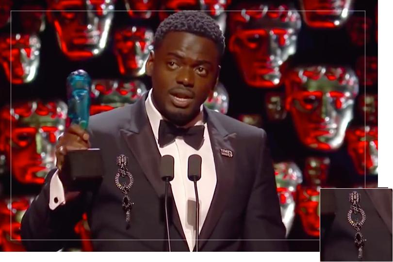 As seen on Bafta awards 2018