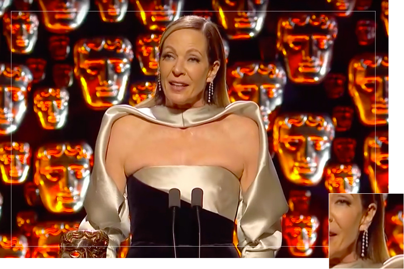 As seen on Bafta awards 2018