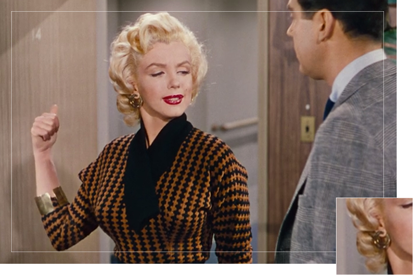 As seen on Lorelei Lee from Gentlemen prefer blondes