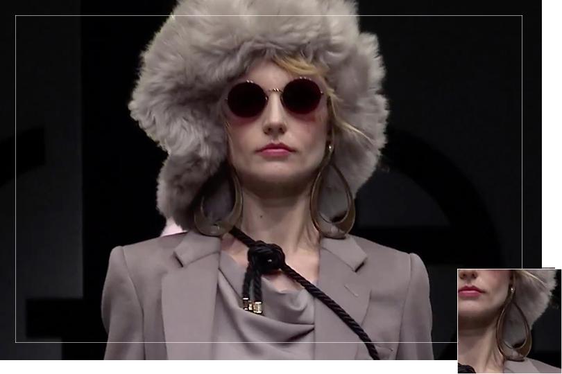 As seen on Milan Fashion week 2018