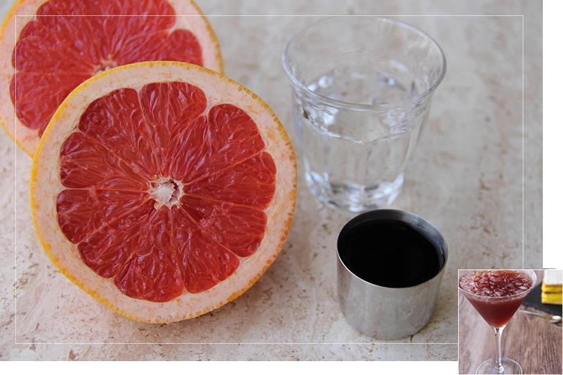 Showbiz cocktail ingredients