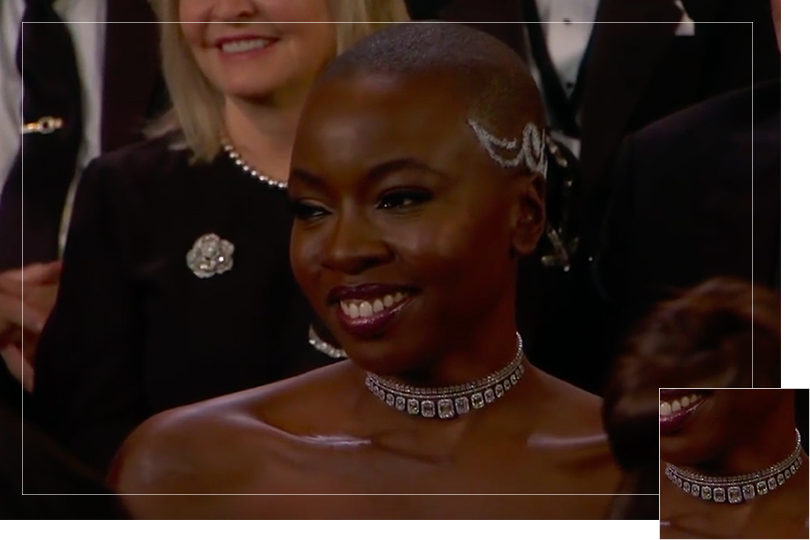 As seen on the Oscars ceremony 2018