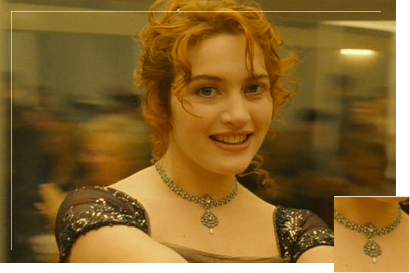 As seen on Rose Dewitt Bukater from Titanic