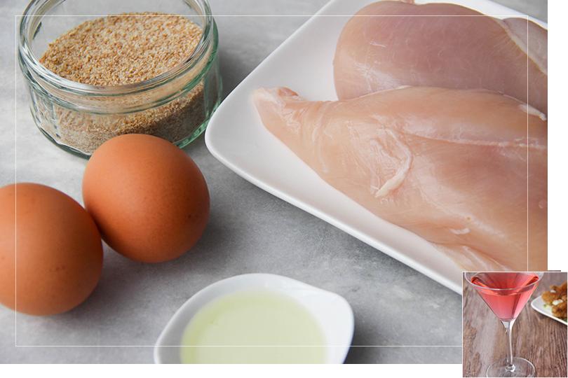 Chicken nuggets ingredients