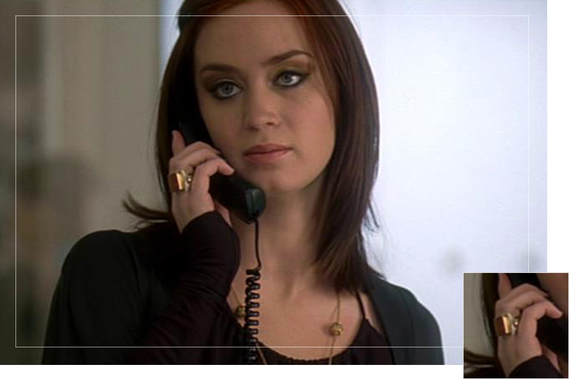 As seen on Emily from the Devil wears Prada