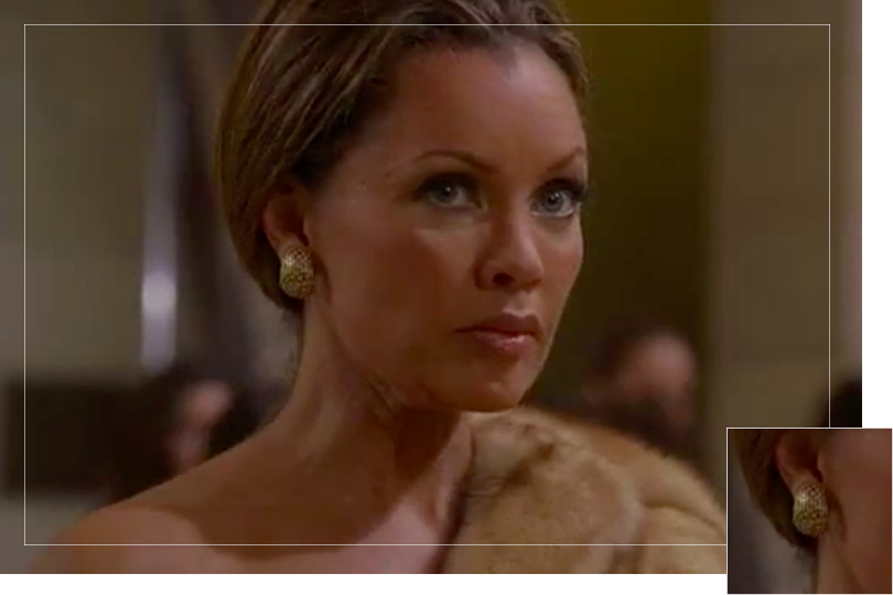 As seen on Whilelmina Slater from Ugly Betty