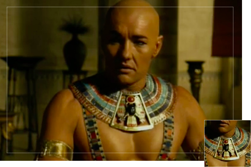 As seen on Ramses from Exodus