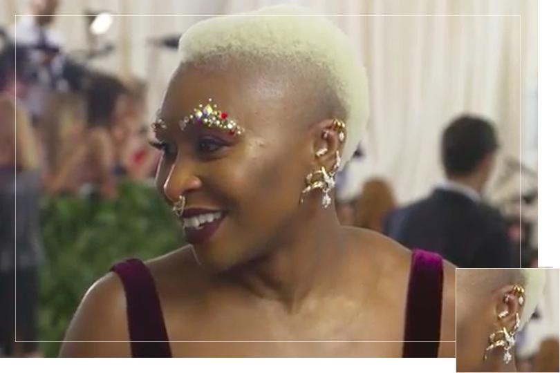 As seen on the Met gala 2018
