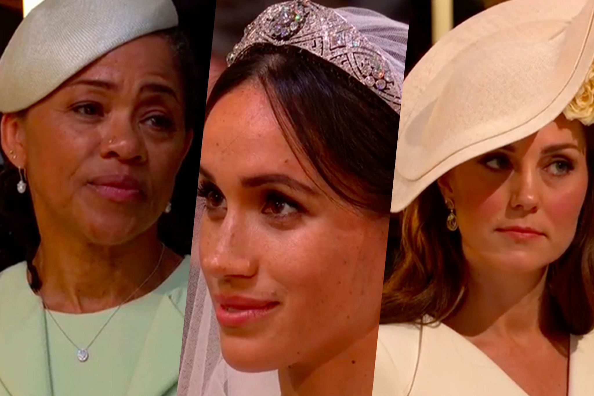 As seen on the Royal wedding 2018 - Harry Windsor and Meghan Markle
