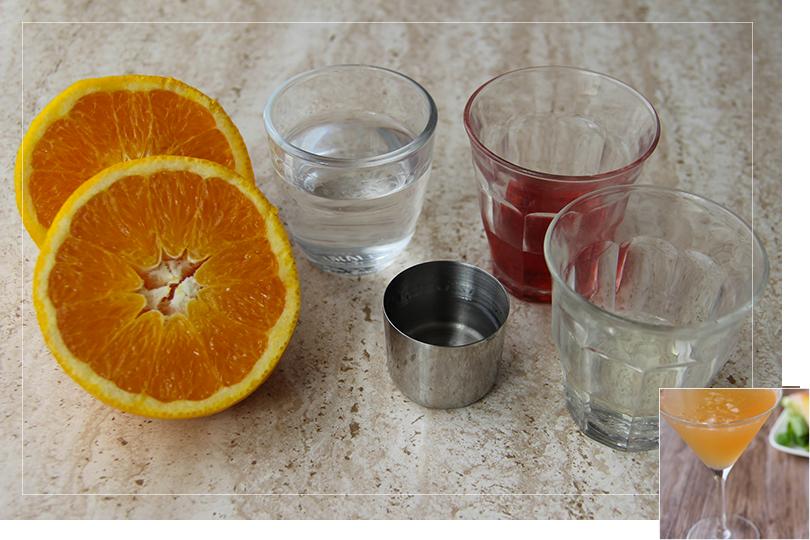 Tango martini cocktail ingredients