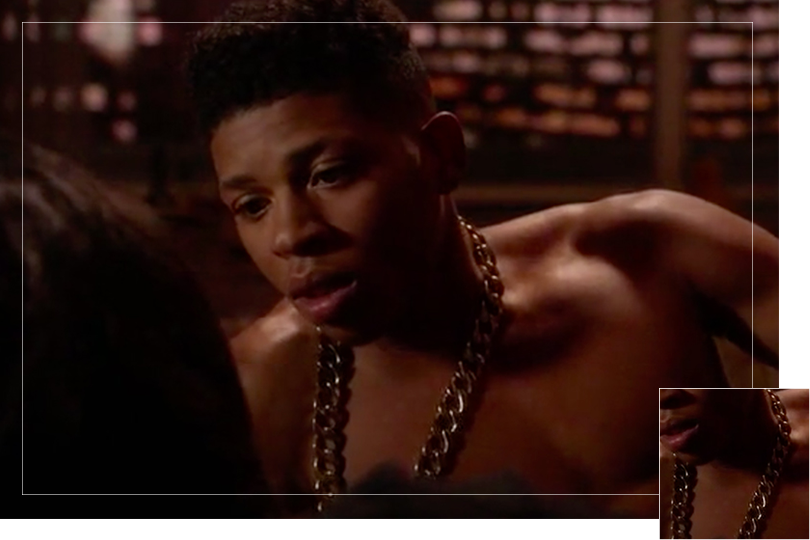 As seen on Hakeem Lyon from Empire