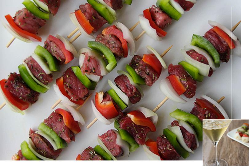Rumsteack kebab