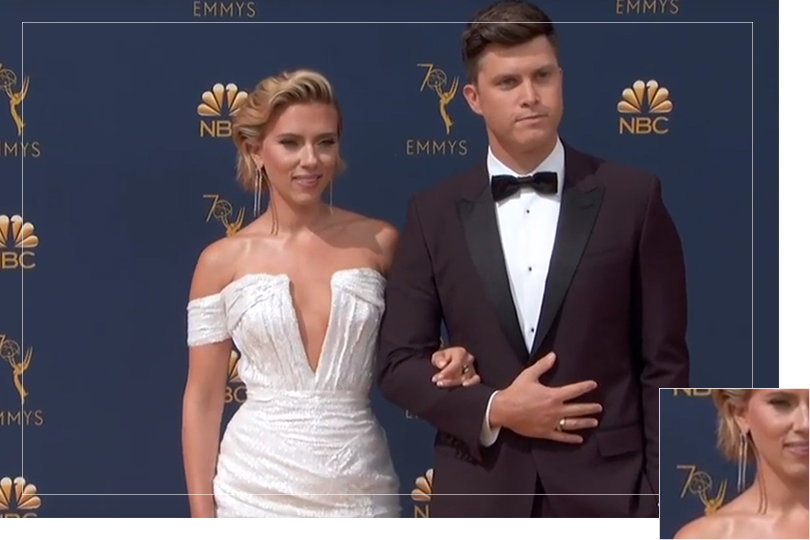 As seen on Emmy awards 2018