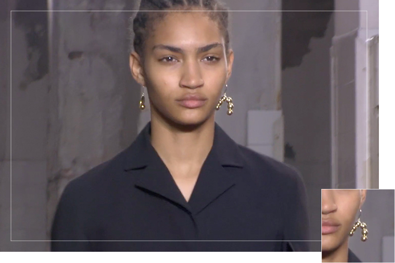 As seen on Milan fashion week september 2018