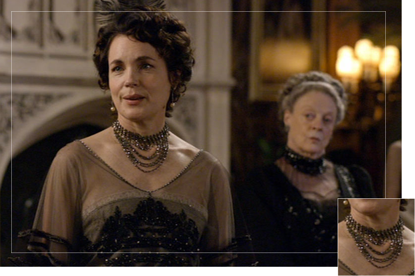 As seen on cora crawley donwton abbey jewelry
