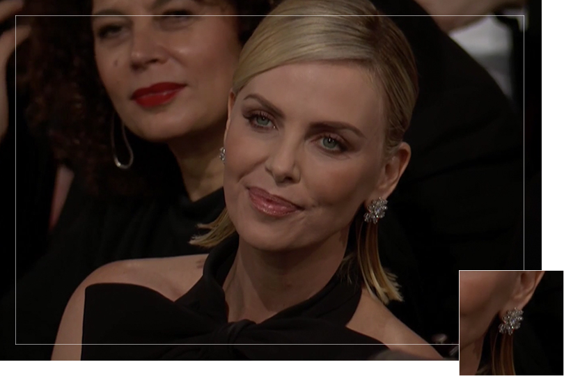 Undercovertoad as seen on jewelry Golden globes 2019
