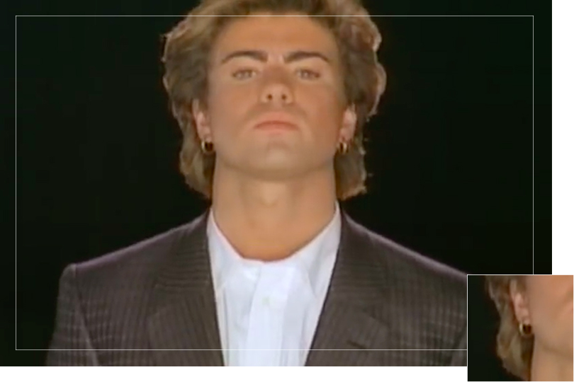 Undercovertoad as seen on Faith George Michael