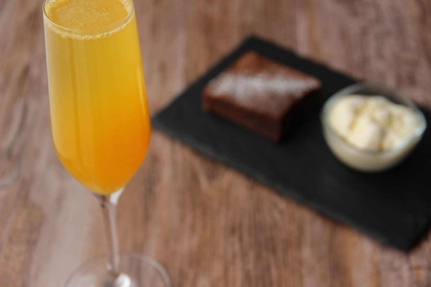 Chilling out cocktail and recipes mimosa cocktail chocolate fondant