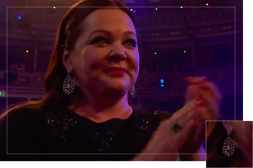 Undercovertoad as seen on events bafta awards 2019 jewelry