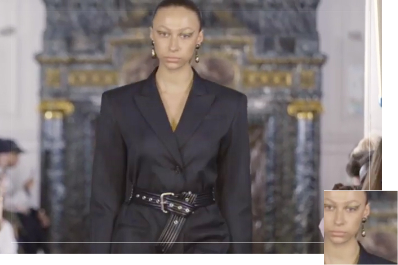 Undercovertoad as seen on Paris Fashion week March 2019