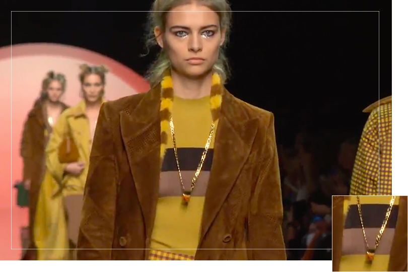 Undercovertoad as seen on Milan Fashion week 2019