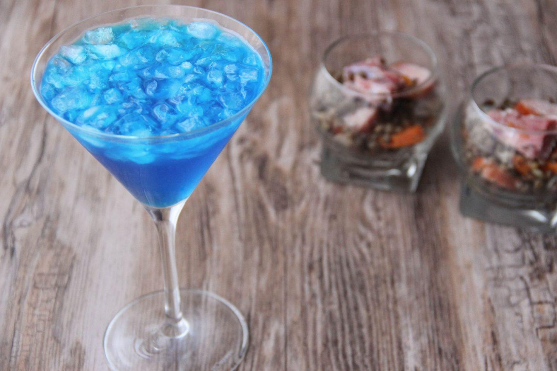 Chilling out cocktail and recipes petit salé lentils blue lady cocktail
