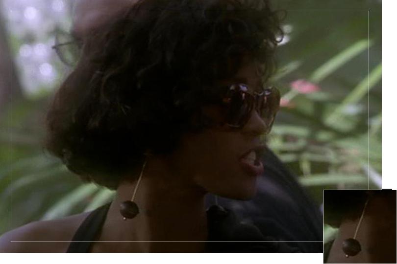 Undercovertoad as seen on Rachel Marron The Bodyguard Whitney Houston