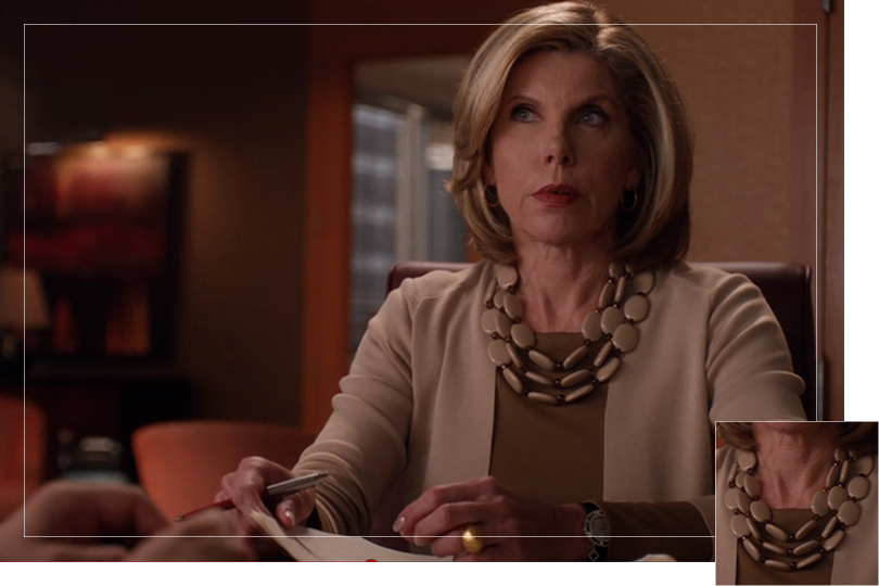 Undercovertoad as seen on The Good wife Diane Lockhart