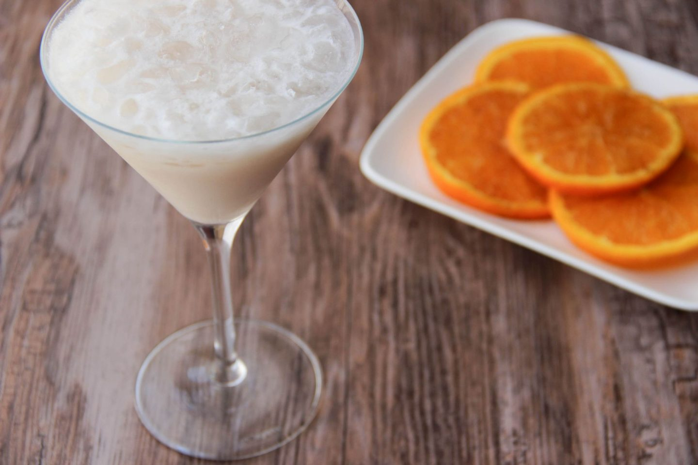 Chilling out cocktail and recipes orange salad stocking cocktail
