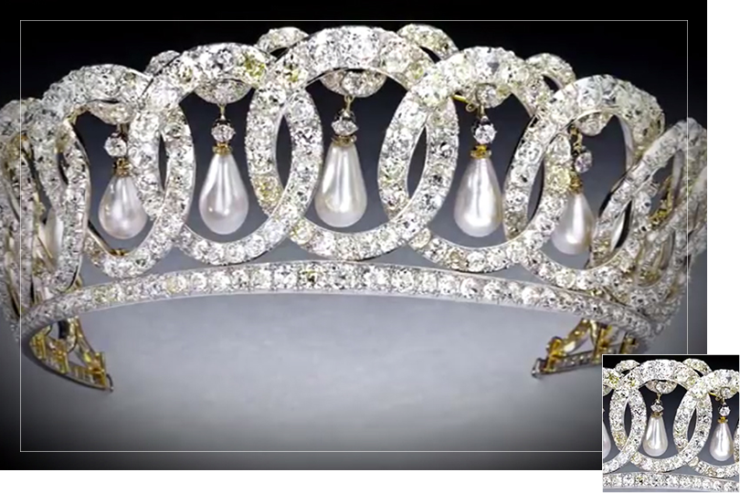 Undercovertoad as seen on Russian Royal jewels documentary