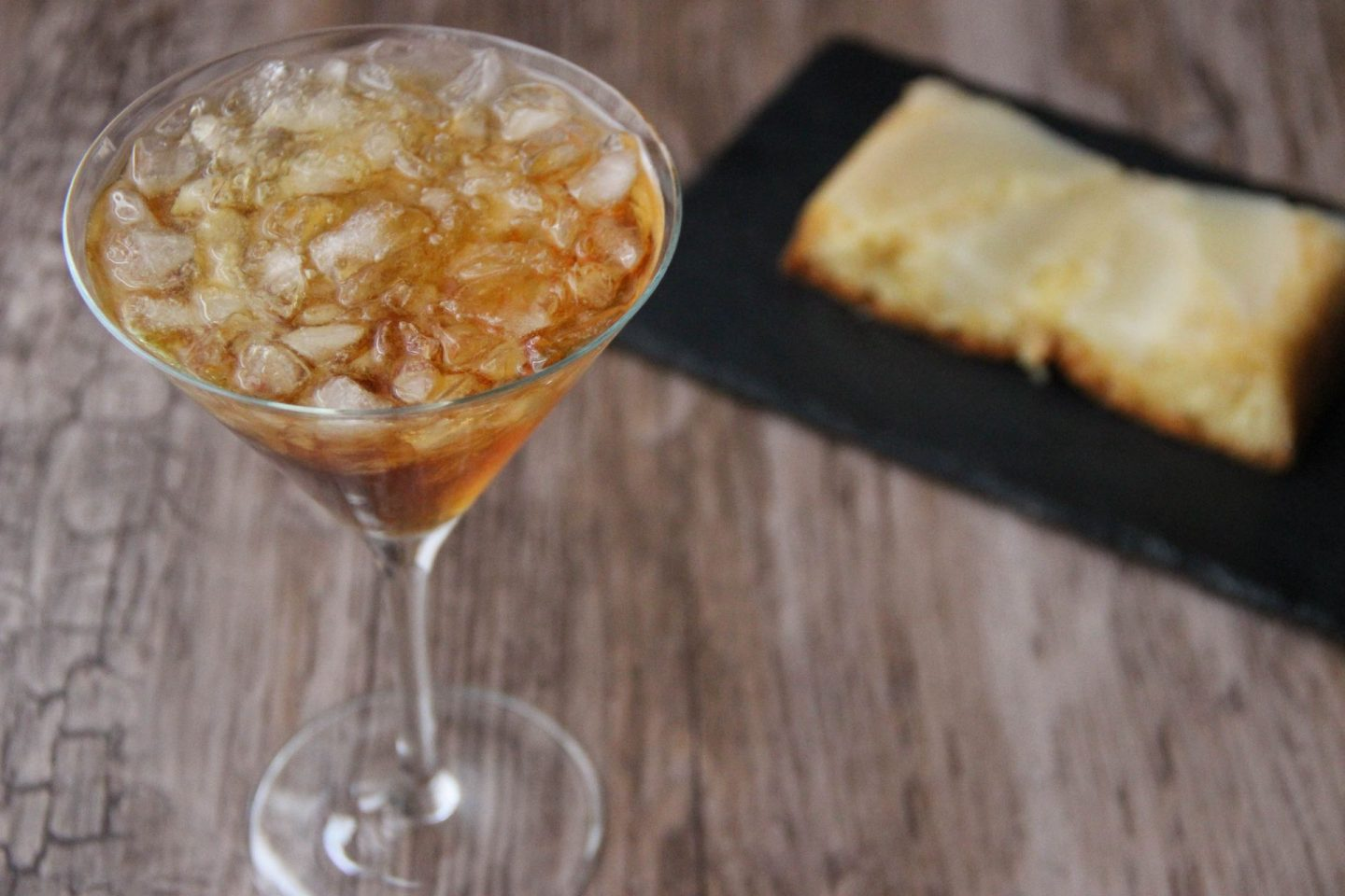 Chilling out cocktail and recipes pear cake and hearst martini cocktail