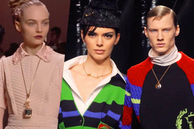 Jewelry Undercovertoad as seen on Milan Fashion week 2020