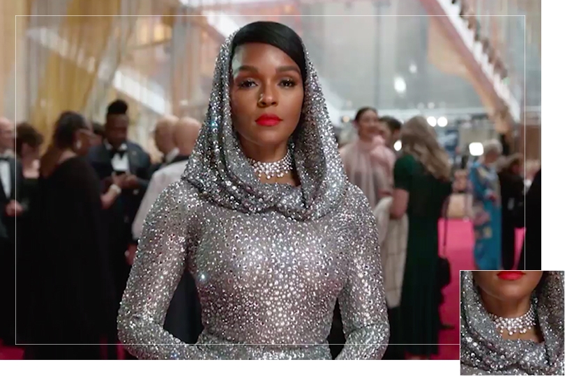 Jewelry Undercovertoad as seen on oscars 2020