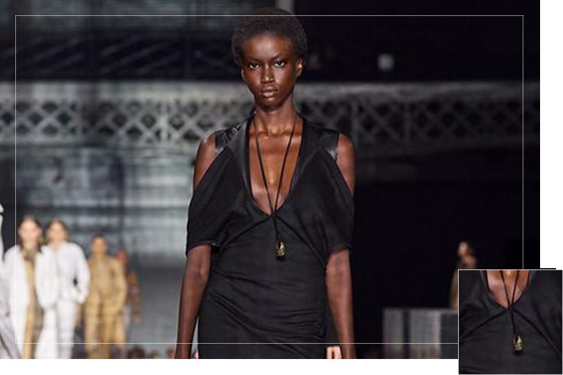 Jewelry Undercovertoad as seen on London Fashion week 2020