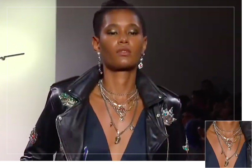 Jewelry Undercovertoad as seen on New York Fashion week 2020