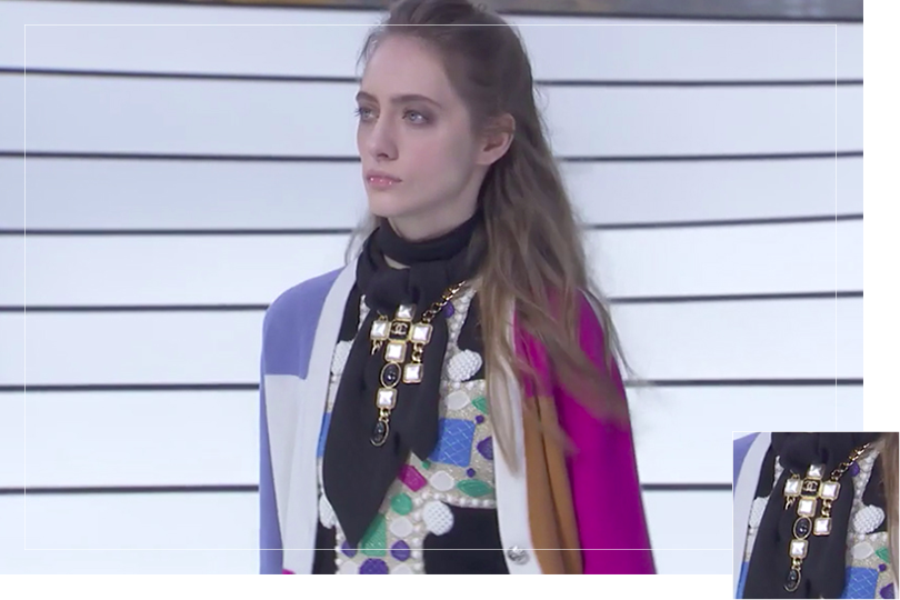Jewelry Undercovertoad as seen on Paris Fashion week 2020