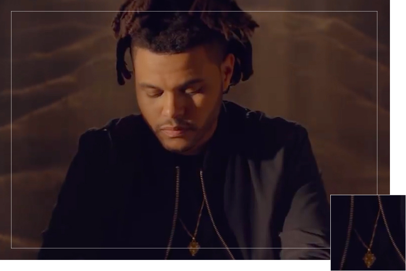 Jewelry Undercovertoad as seen on the weeknd