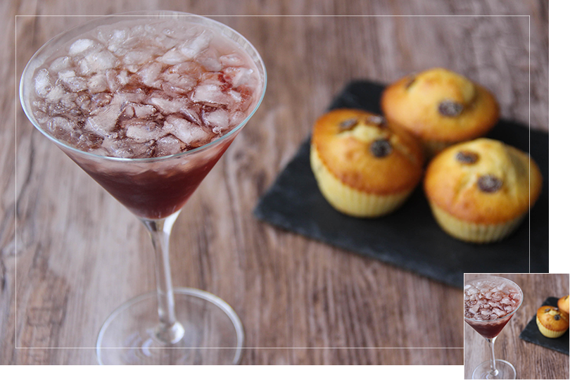 Chilling out cocktail and recipes grape muffin and gun club punch cocktail
