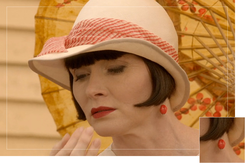 Jewelry Undercovertoad as seen on Miss Fisher Phryne Fisher