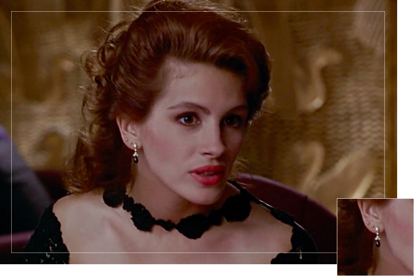 Jewelry Undercovertoad as seen on Pretty woman Julia Roberts