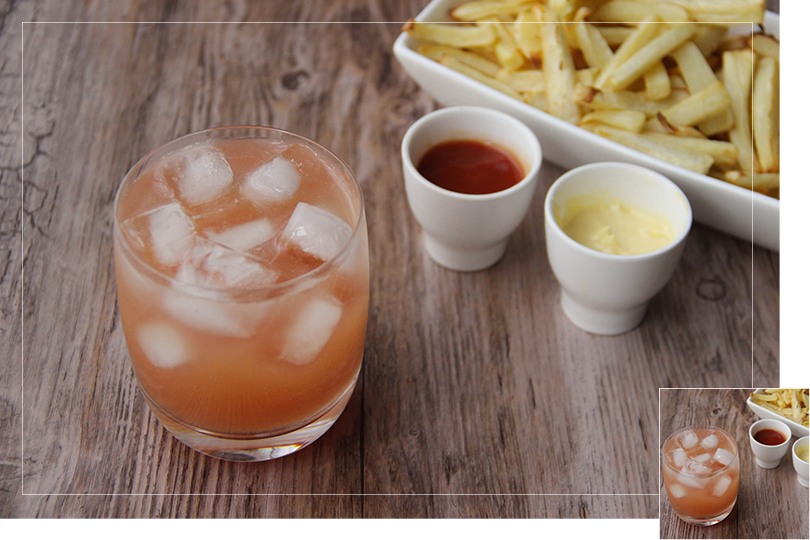 Chilling out cocktail and recipes parnsip fries and fix cocktail
