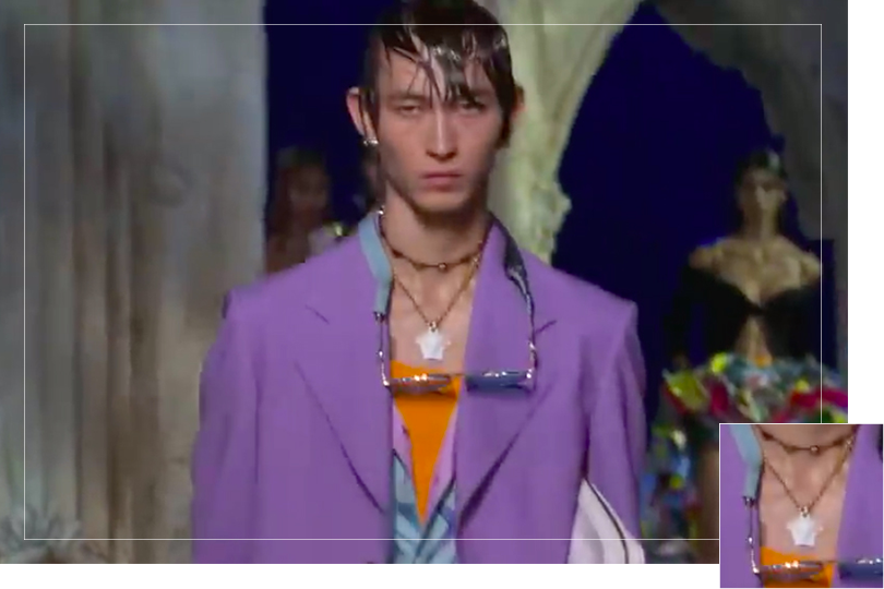 Jewelry Undercovertoad as seen on Milan Fashion week September 2020