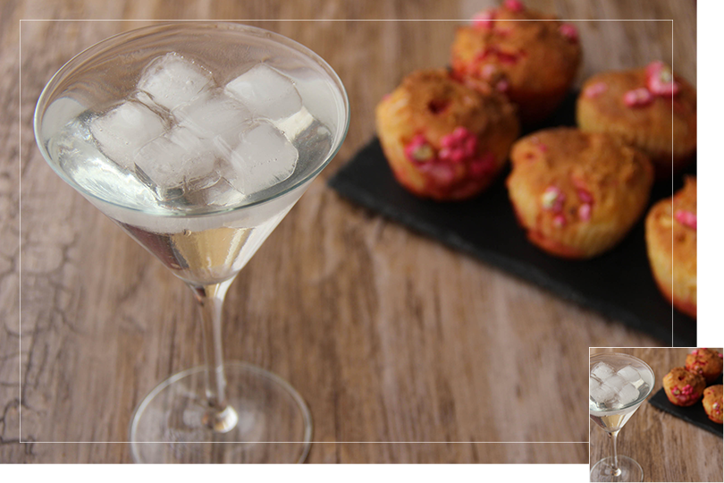 Chilling out cocktail and recipes pink praline brioches and fiendtini cocktail
