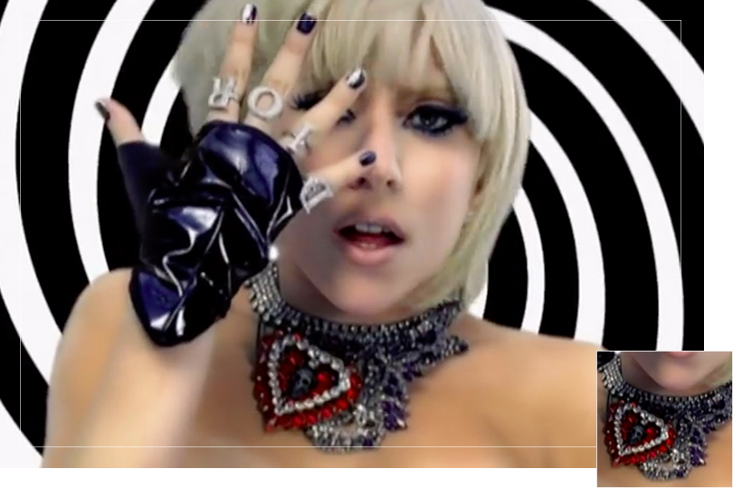 Jewelry Undercovertoad as seen on Lady Gaga The Fame