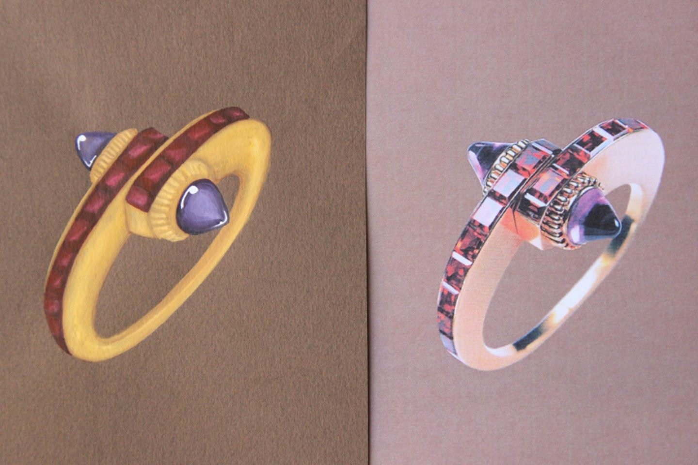 Shine & draw Jewelry drawing reproduction Cartier bracelet undercovertoad